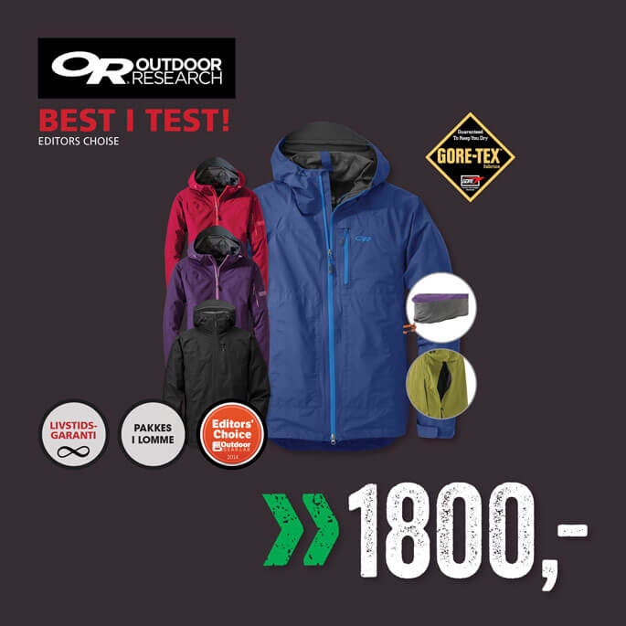 Outdoor Research Gore-tex jakke