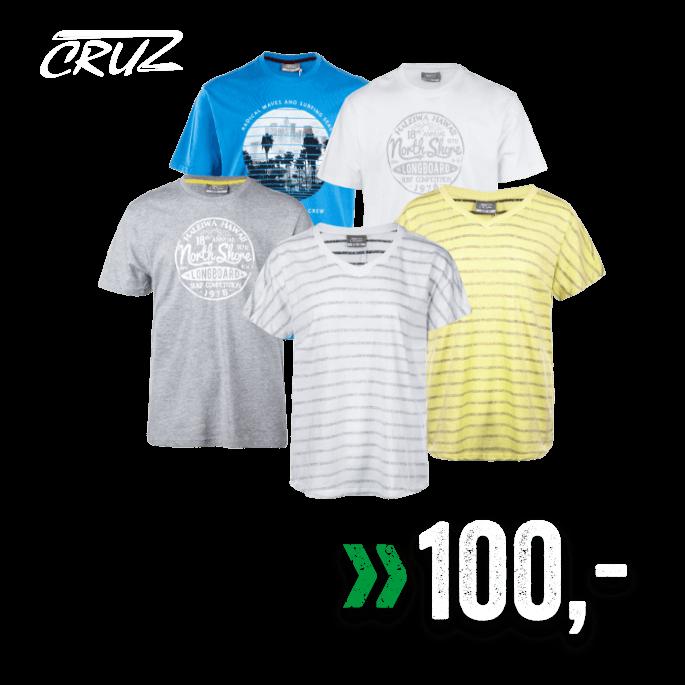 Cruz T-skjorte til dame og herre