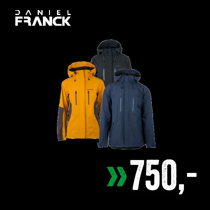 1ac7bab2 Daniel Franck Alpha 2-lags jakke