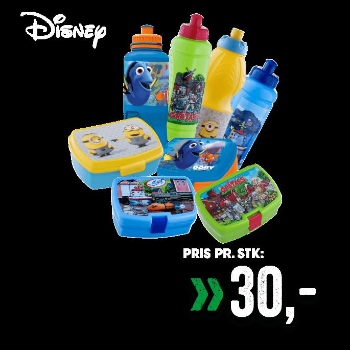 Disney drikkeflaske/matboks