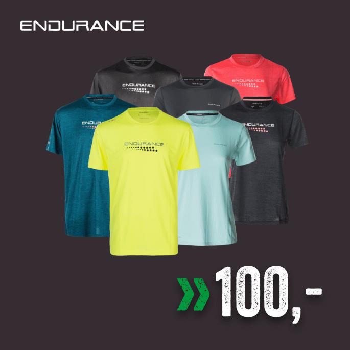 Endurance trenings t-shirt