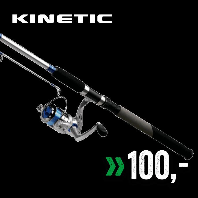 Kinetic Allround 7'/9' fiskesett
