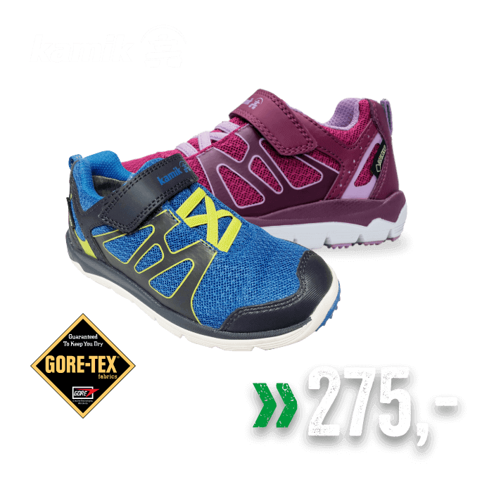 Kamik Gore-tex sko til barn