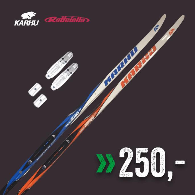 Karhu Ski + binding 180-205 cm