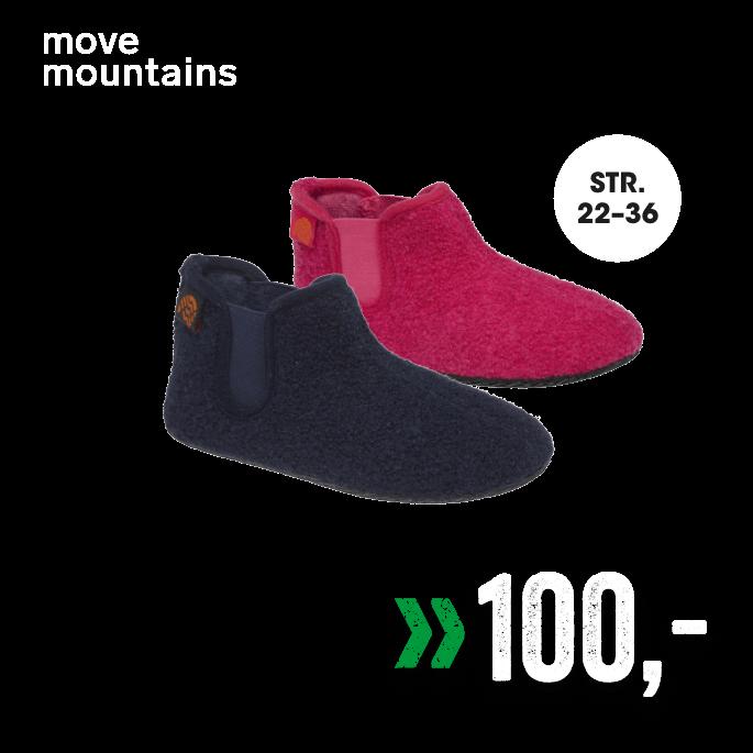 Move Mountains Tøfler
