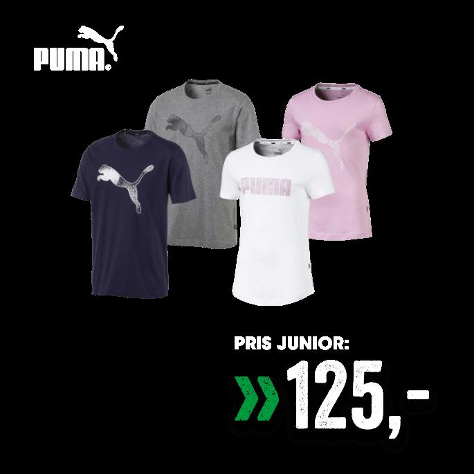 Puma t-skjorte til junior