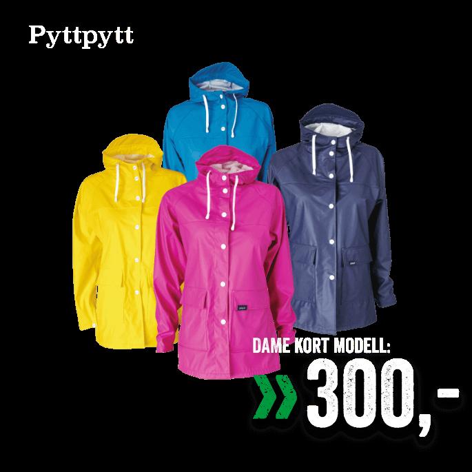 a0a70183 PyttPytt Dråpe/Sky regnjakke