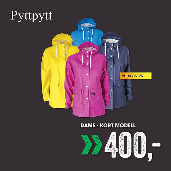 PyttPytt Dråpe/Sky regnjakke